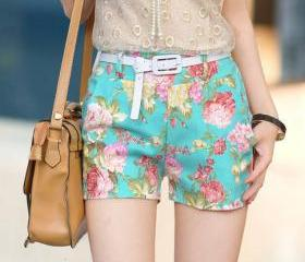 LOW WAISTED FLOWER ..