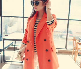 Orange Women Casual ..