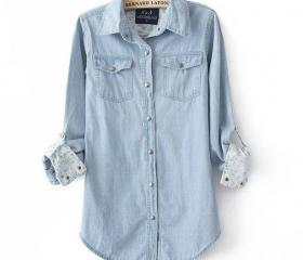 Fashion Light Blue D..