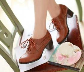 Brogue Womens Oxford..