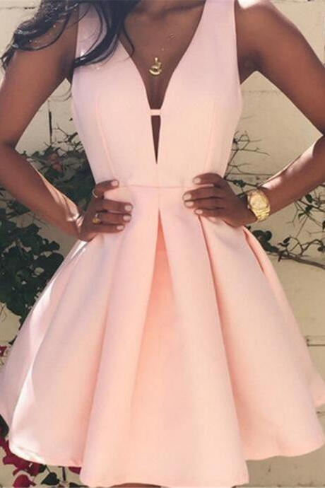 Short / Mini Bridesmaid Homecoming Evening Ball Gown Grad Cocktail Prom Dresses